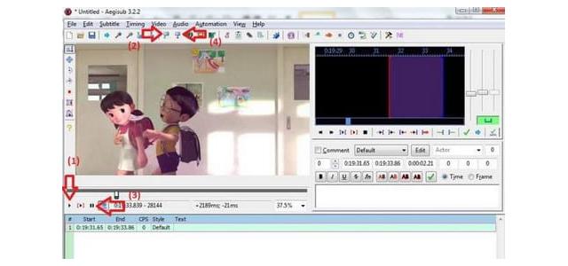 Bắt đầu thực hiện làm phụ đề cho video