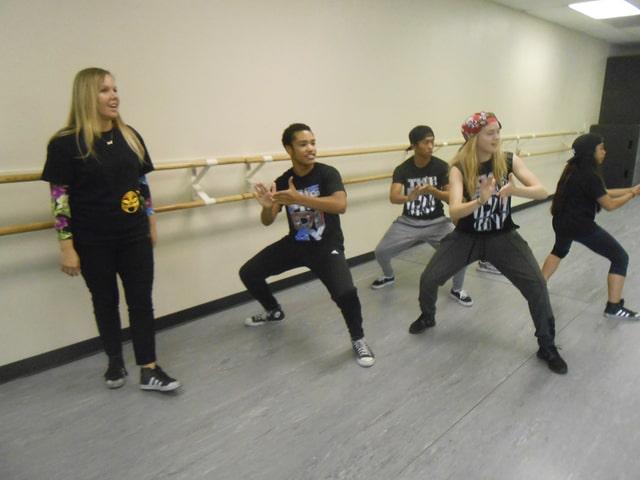 Một buổi tập nhảy Hip Hop