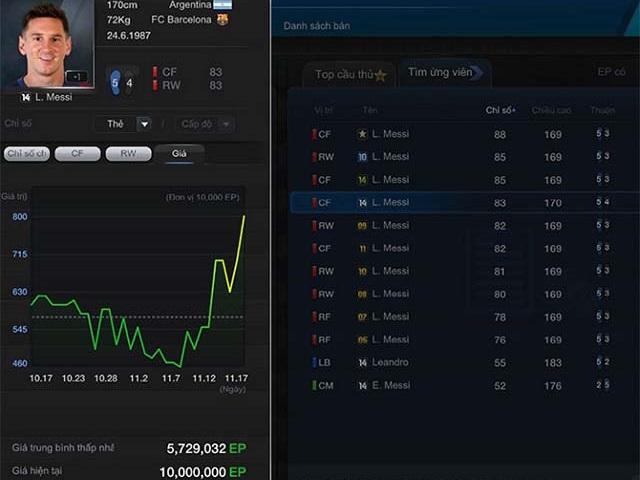 Phần mềm giúp tự động mua cầu thủ