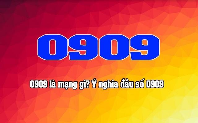 Đầu số 0909 là mạng gì?