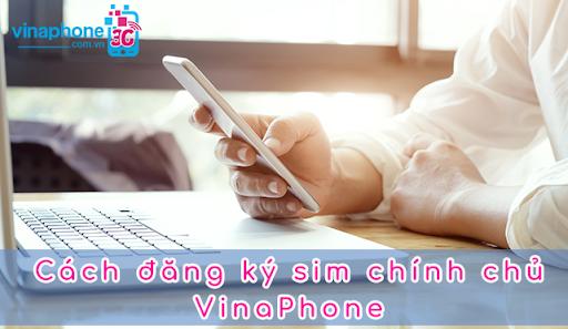 Bạn có thể đăng ký sim chính chủ Vinaphone online ngay tại nhà