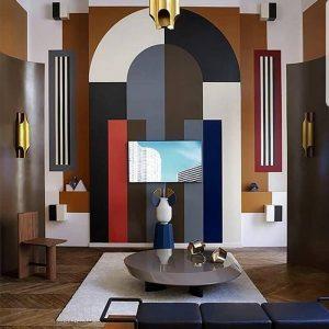 Màu sắc thể hiện tinh thần chủ đạo của phong cách Art decor.